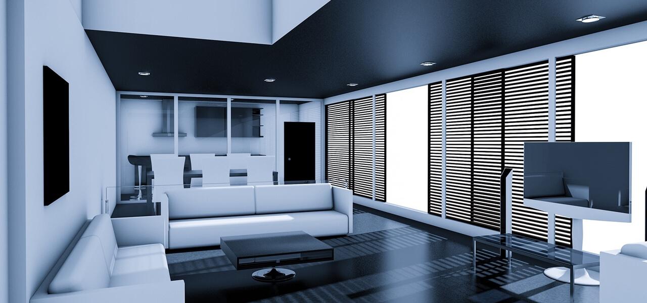 3D Architekturvisualisierung Wohnraum