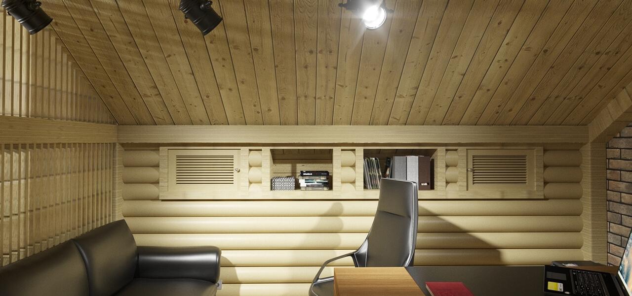 3D Visualisierung Holzinnenausbau