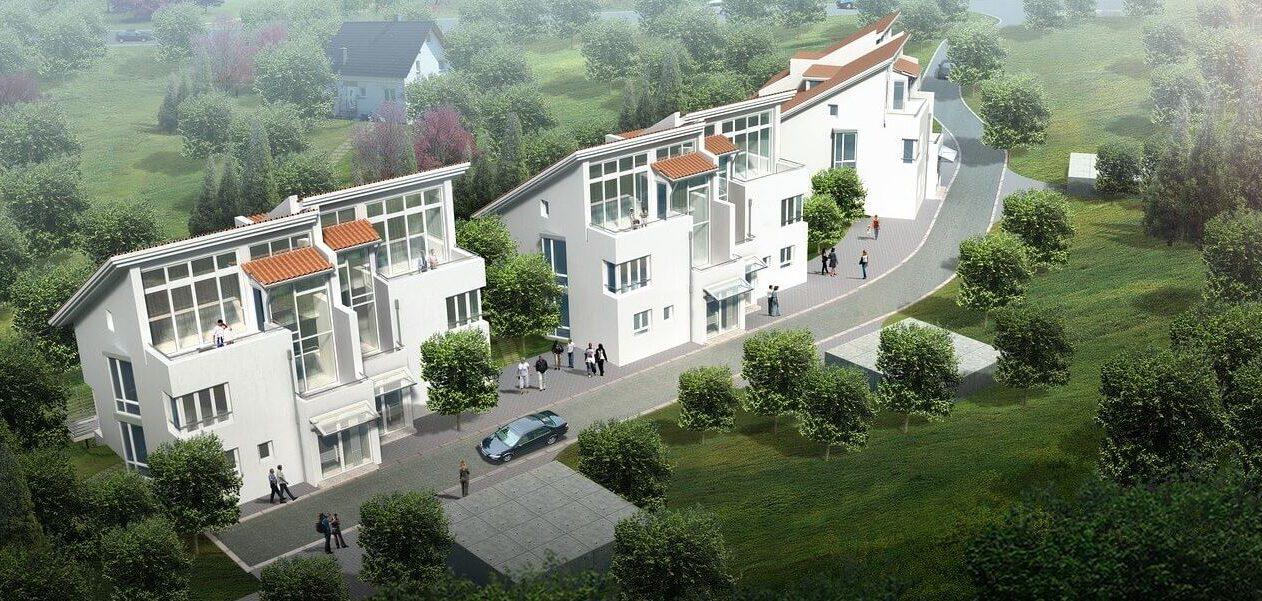 3D Visualisierung Mehrfamilienhäuser