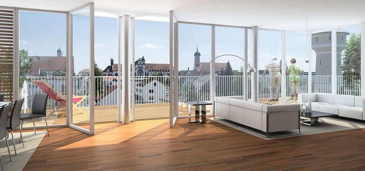 3D Visualisierung Wohnbereich