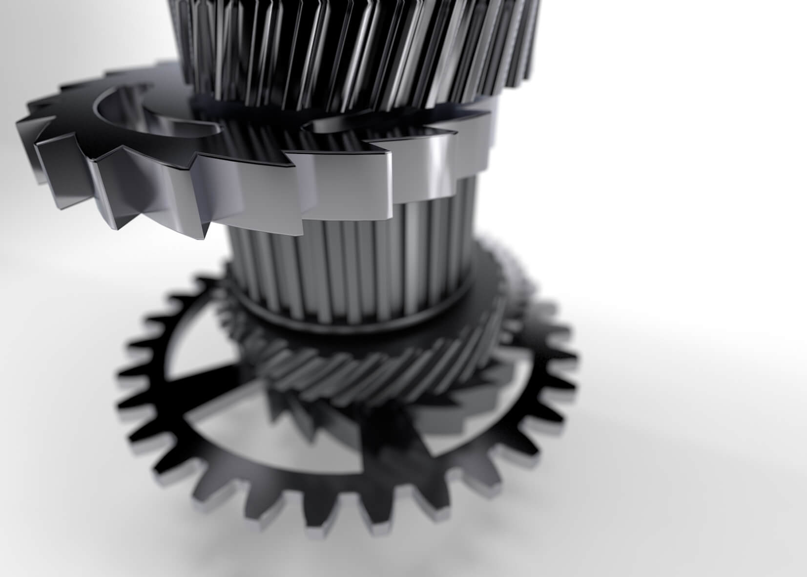 3D Visualisierung München | Produkt-Visualisierung Zahnräder
