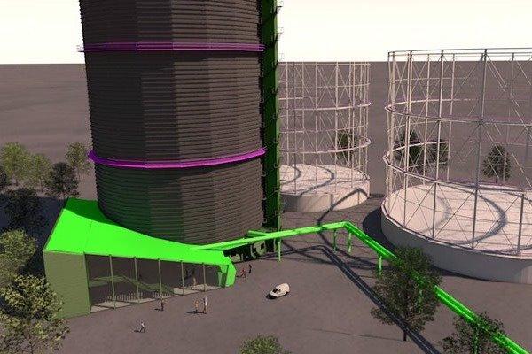 3D Visualisierung München | Gaswerk Anbau