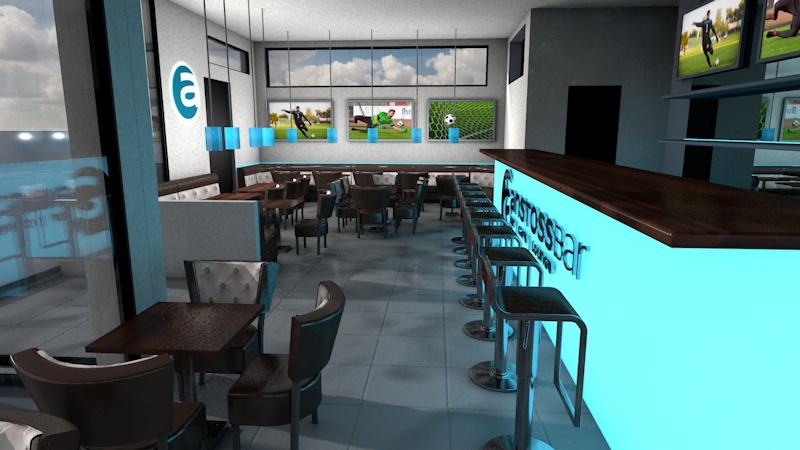 Anstossbar 3D Visualisierung Innenausbau